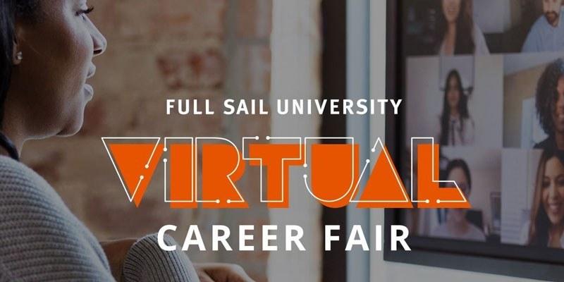 Full Sail Virtual Career Fair Hero Image