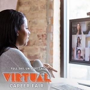 Full Sail Virtual Career Fair-October 20, 2021 Thumbnail Image